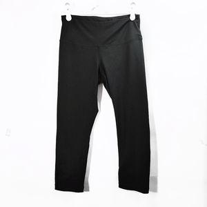 Zella Black High Waisted Crop Leggings Pants Sz S